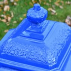 Close up of crown finial