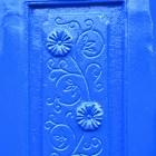 Close up of flower motif