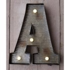 Letter A Wall Light