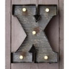 Letter X Wall Light