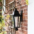 Side view of 'Cleobury' Wall Lantern