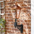 Outdoor wall mounted lantern Victorian style