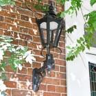 Black Concordia Lantern on Royale Bracket