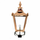 Copper Victorian Lantern - Silhouette