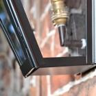 Close up of framework and bulb holder