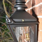 Side view of Harrogate Wall Lantern