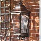 'Mosebly Manor' Antique Black Wall Lantern
