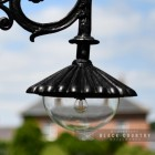 Close-up of the Domed Lantern on the Lamp Post