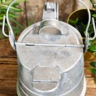 Close-up of the Top of the Galvanised Watering Can