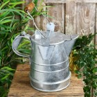 Traditional Galvanised Narrowboat Watering Can