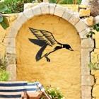 """Mallard"" Duck Wall Art in Situ Outdoors"