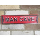 Metal Sign - Man Cave