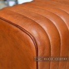 Goat Leather Finished in a Tan Colour