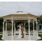 "Customer photograph of the ""Lady Leticia"" Bandstand Gazebo in Use - Manor By the Lake"