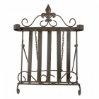 """""""Mary Beetons"""" Cast iron cookbook stand"""