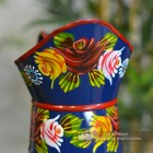Close-up of the Rose Design on the Lip of the Jug