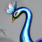Close-up of the Head of the Peacock