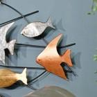 Close-up of the Metallic Fish