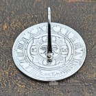 Mini Sundial Finished in Bright Chrome