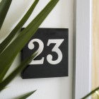 Acrylic modern House Number Signs