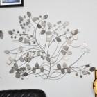 Modern Tree Wall Art in Situ on a White Wall