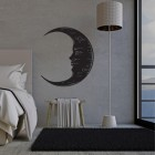 Black Moon Wall Art