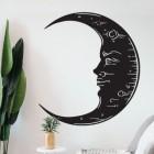 Wall Art with Black Moon