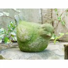 Moss Covered Bird Ornament