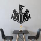 Newcastle 'Magpies' Wall Art