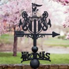 Newcastle The Magpies Weathervane