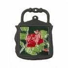 Kettle Trivet Red Rose