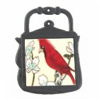 Kettle Trivet Red Bird