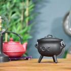 Black Crescent Moon Cauldron In-Situ
