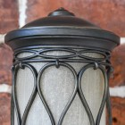 Close-up of The Ornate Pattern on the Top of the Lantern