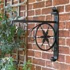 Hanging Basket Bracket with Star Design