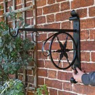 """Northern Star"" Hanging Basket Bracket to Scale"
