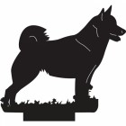 Norwegian Behund Dog Weathervane