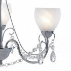 Ornate Three Light Jewel Chandelier
