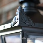 Ornate Finials On The Black Lantern
