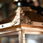 Ornate Finials On The Copper Lantern