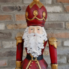 Father Christmas Ornament in a Painted Finish