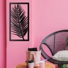 Tropical Palm Wall Art in Situ
