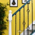 """Cavendish"" Set of 4 Alternating Stair Spindles - Pattern 11"