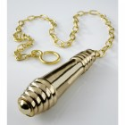 Solid Brass Beehive Pull Flush and chain