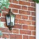 """Penley"" Flush Wall Light in Situ Next to the Front Door"