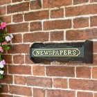 Period Wall Mounted Newspaper Holder