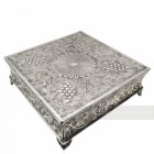 Polished Aluminium Square Cake Stand