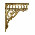 Polished brass Classic railway bracket