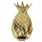 Pineapple door knocker finished in a polished brass