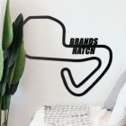 Brands Hatch Racing Circuit Wall Art Next to plants in the Home